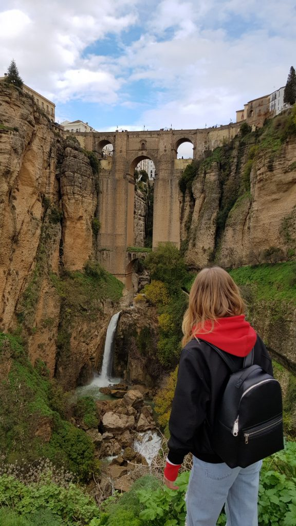 Bucket List Walk on Puente Nuevo in Ronda