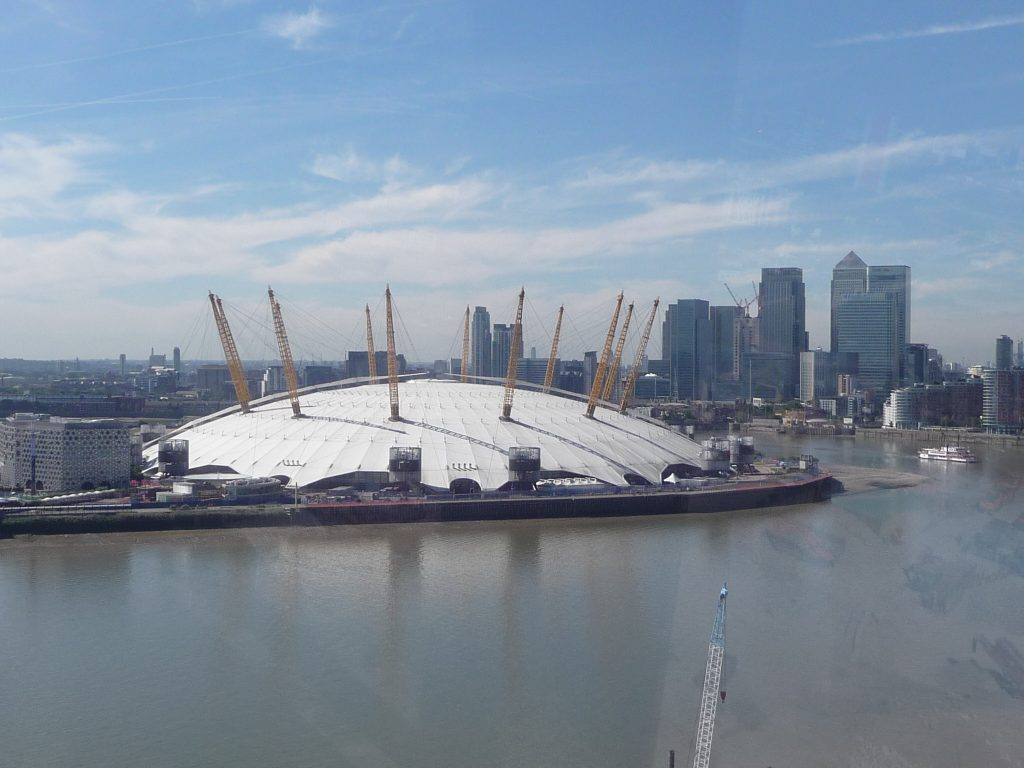 Best things to do in London - O2 Arena