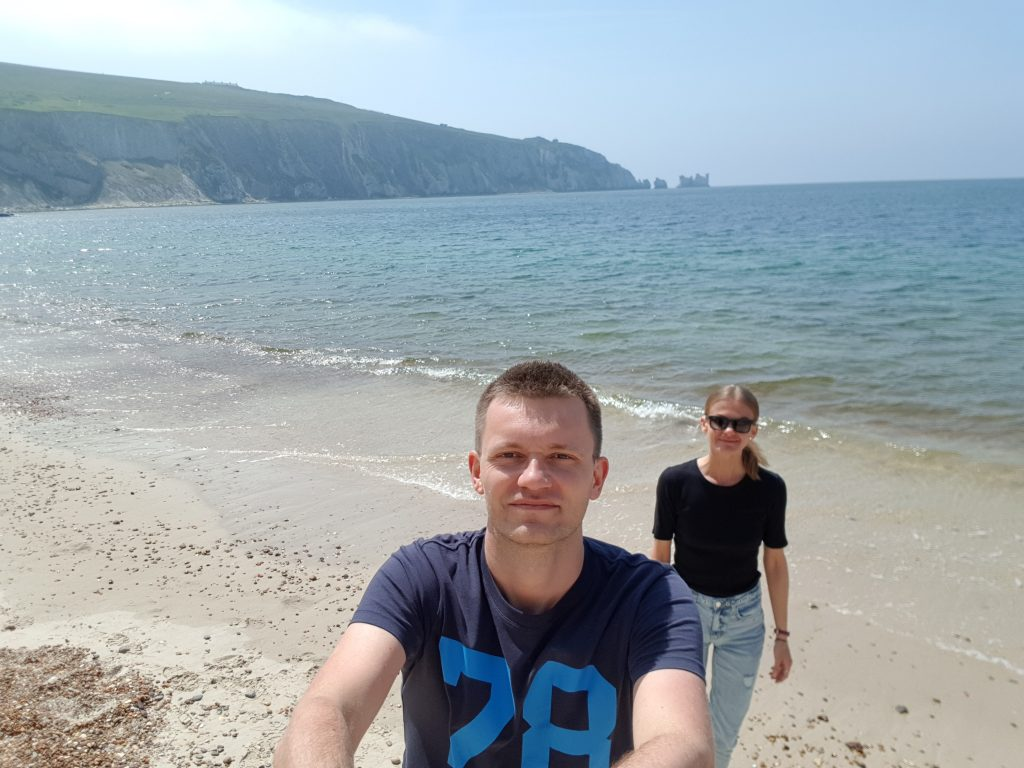 Isle of Wight things to do and attractions - Alum Bay Pebble Beach