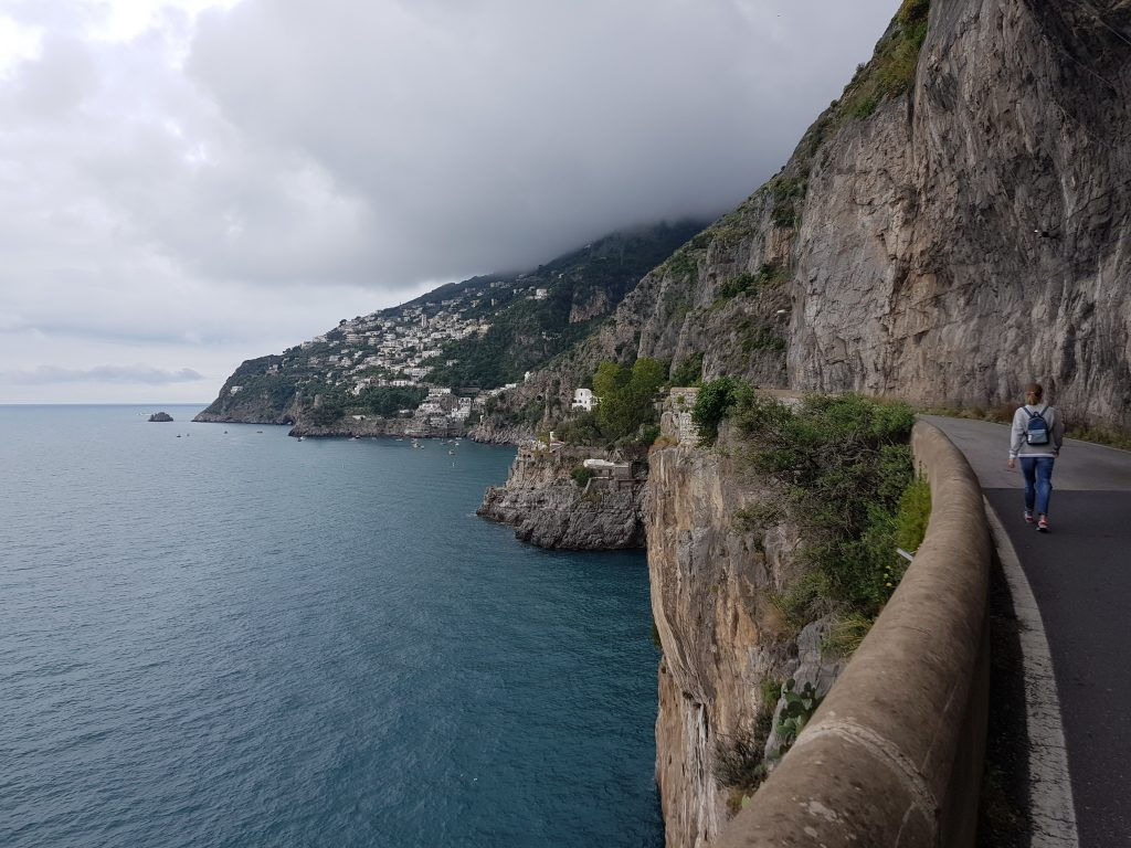 How long is the Amalfi coast drive