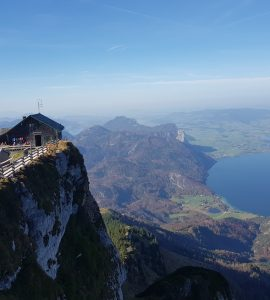 Schafberg Mountain in Austria