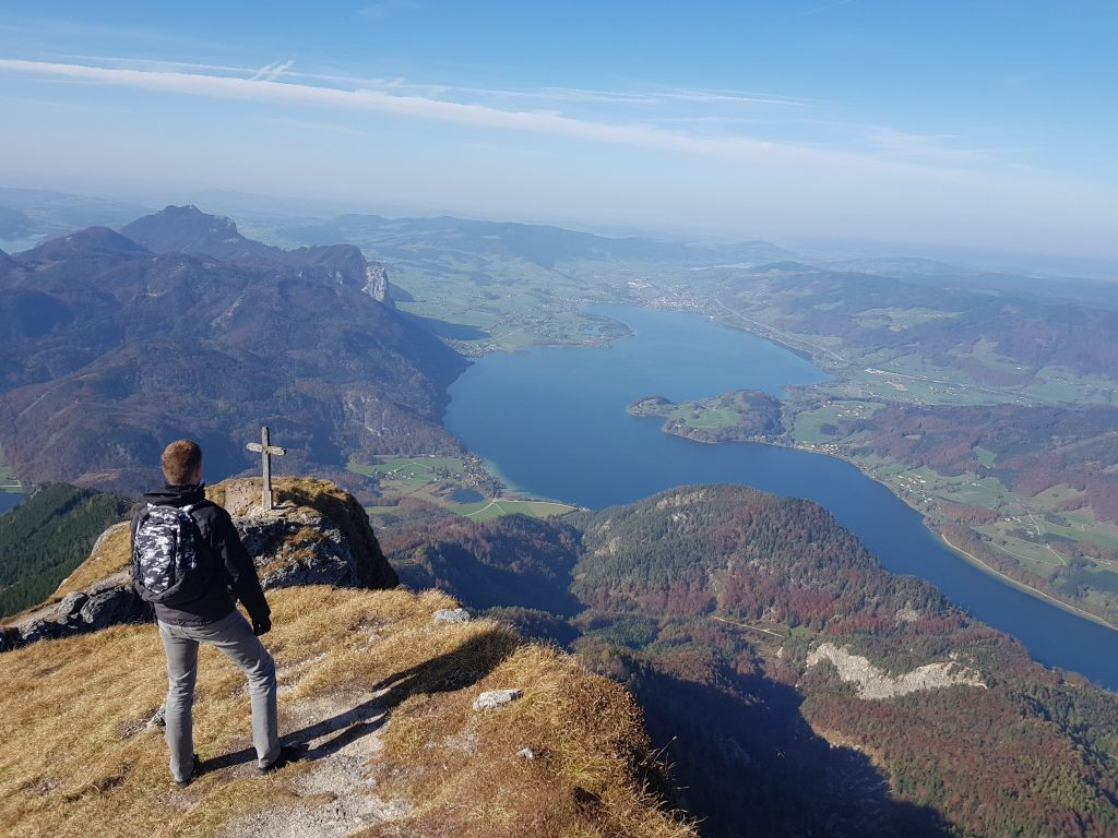 View from Schafberg