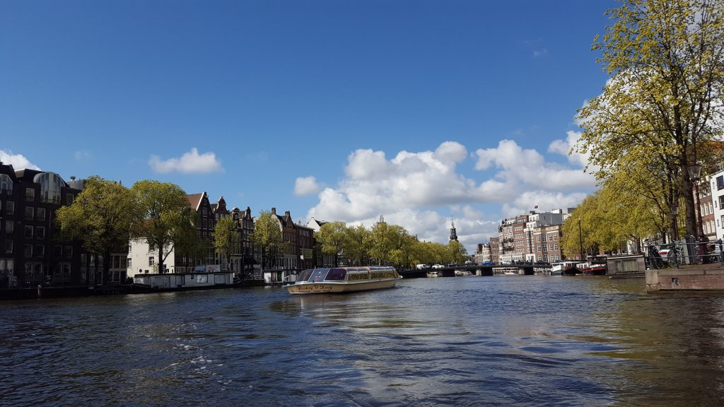 Amsterdam things to do - Go for a canal boat tour