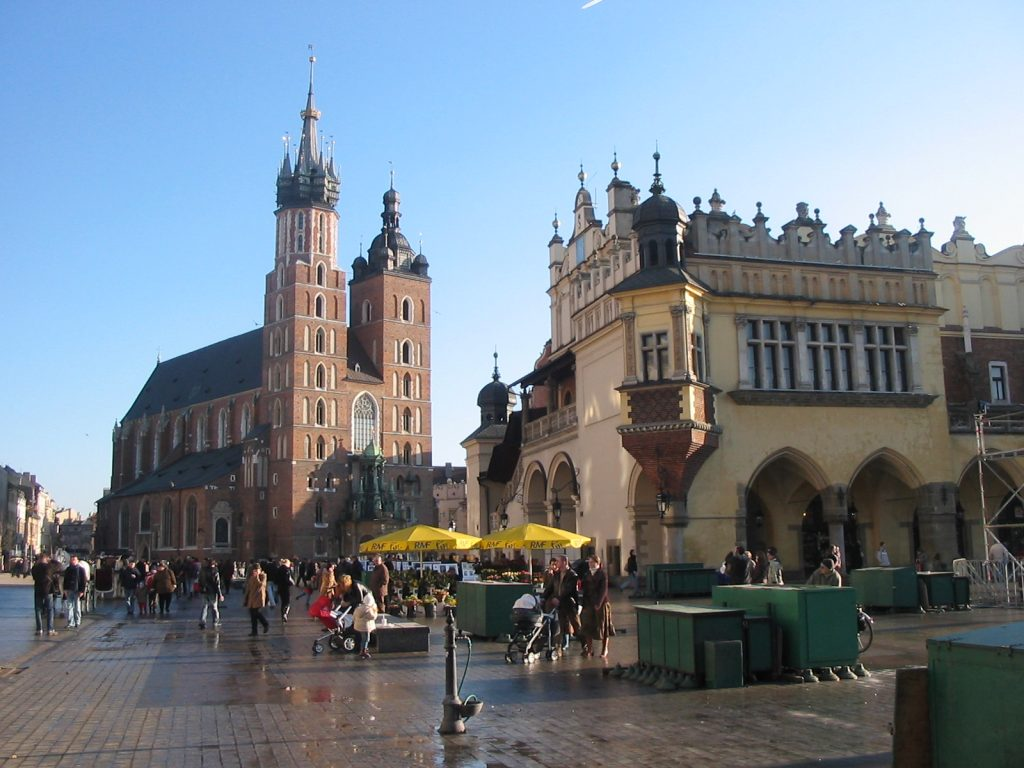 Romantic cities in Europe - Krakow