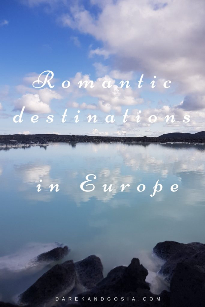 Most romantic destinations in Europe