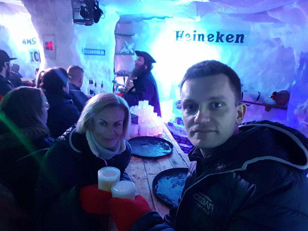 Things to do in Amsterdam - Go to Ice Bar Amsterdam