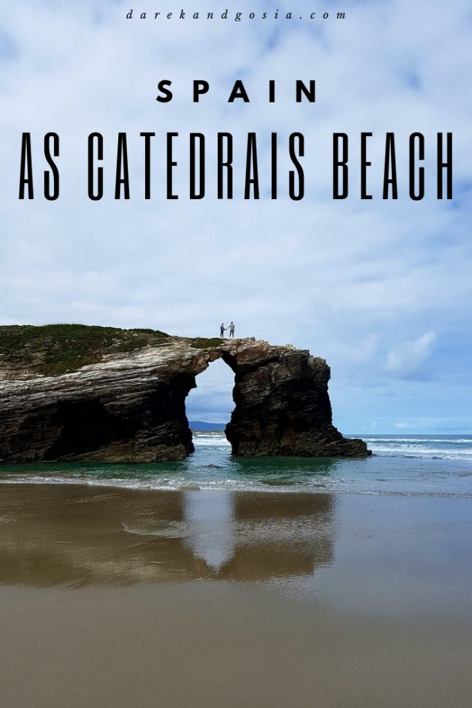 As Catedrais Beach in Ribadeo Spain