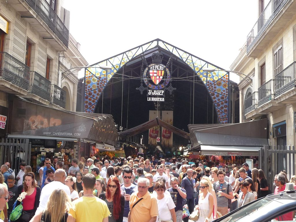 Attractions Barcelona - Mercado de La Boqueria