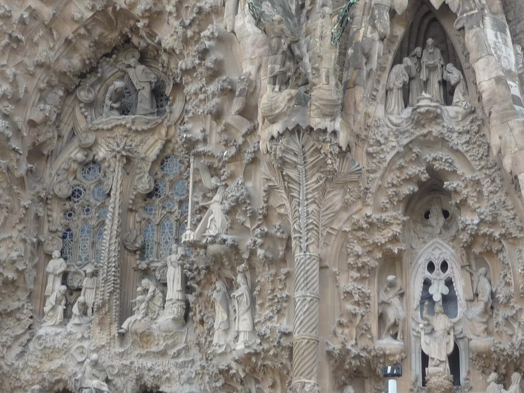 Barcelona Spain - La Sagrada Familia