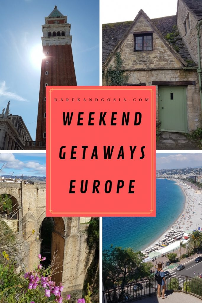 Best Weekend Getaways in Europe