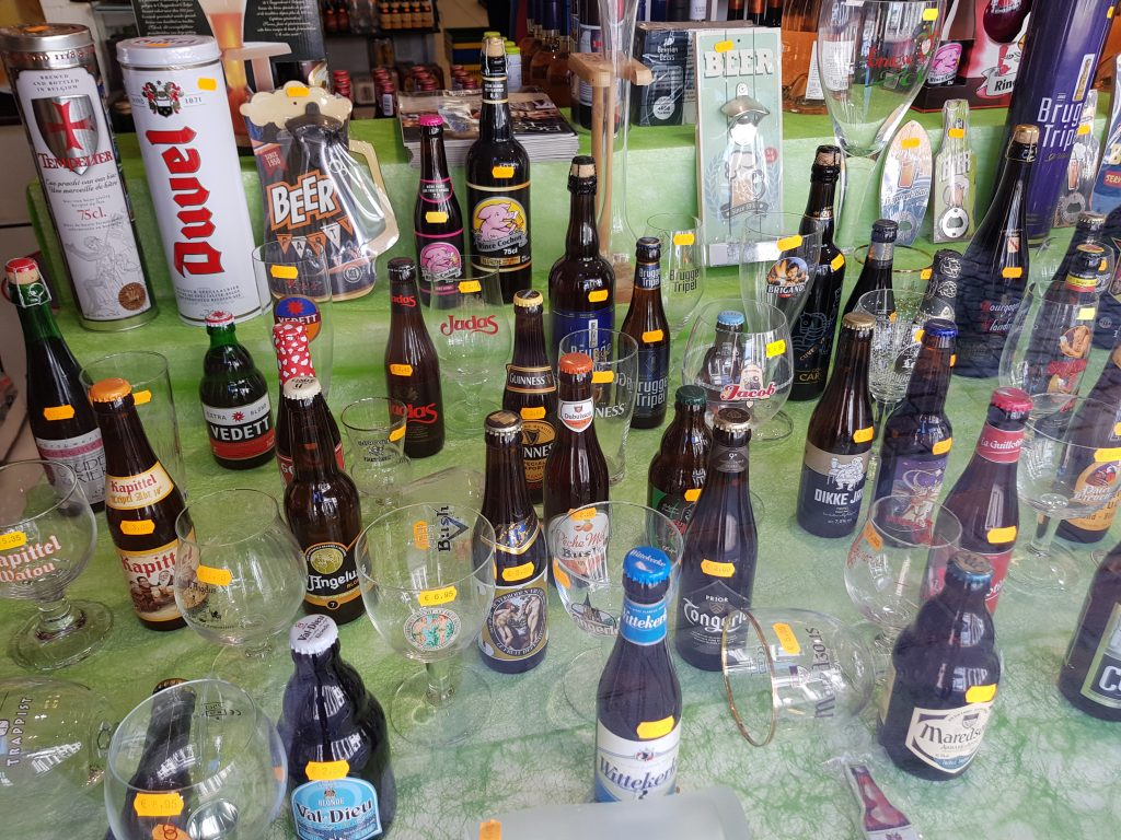 Try Belgian beer