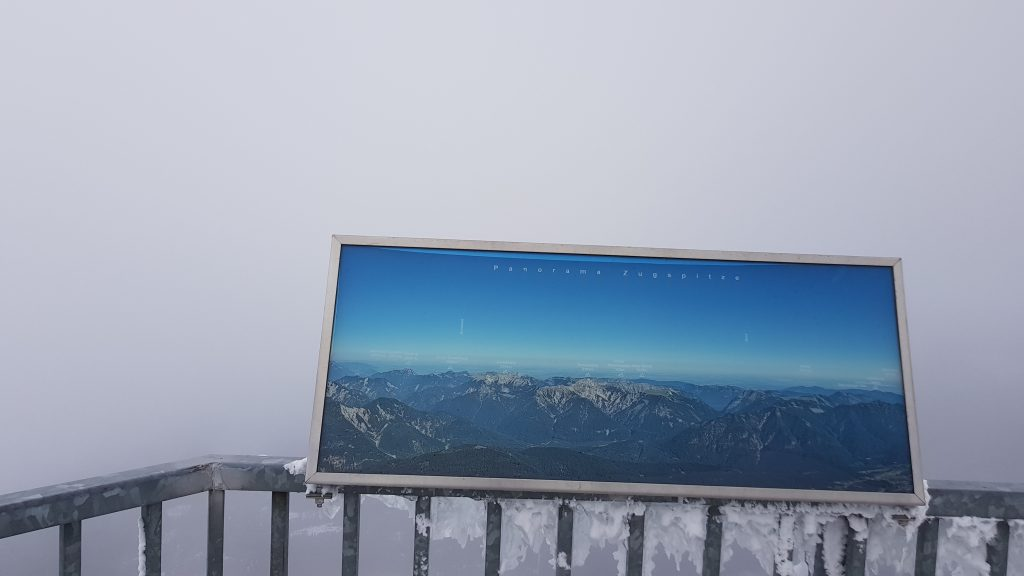 What countries can you see from Zugspitze