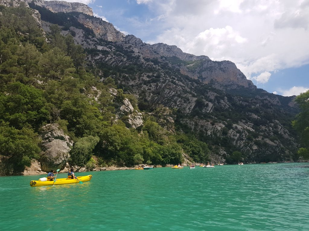 Gorges du Verdon kayak