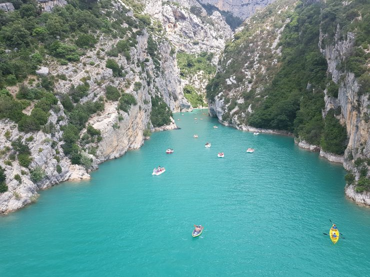 Visiting Gorges du Verdon
