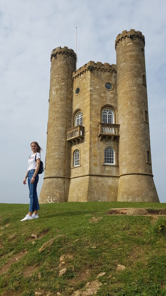 How tall is the Broadway Tower