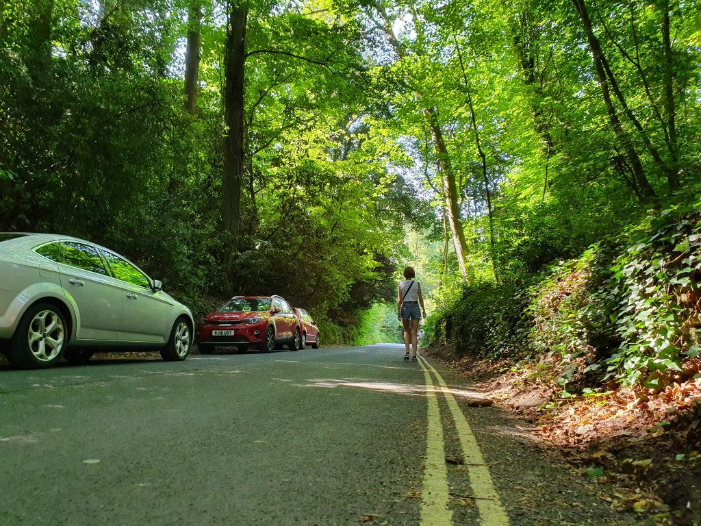 Parking in Castle Combe