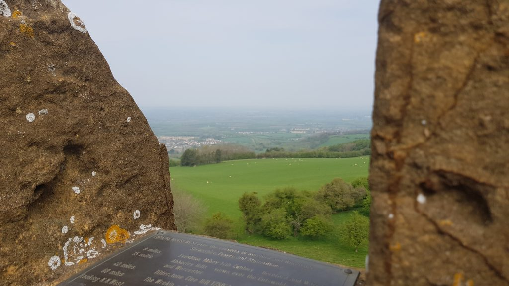 What counties can you see from Broadway Tower
