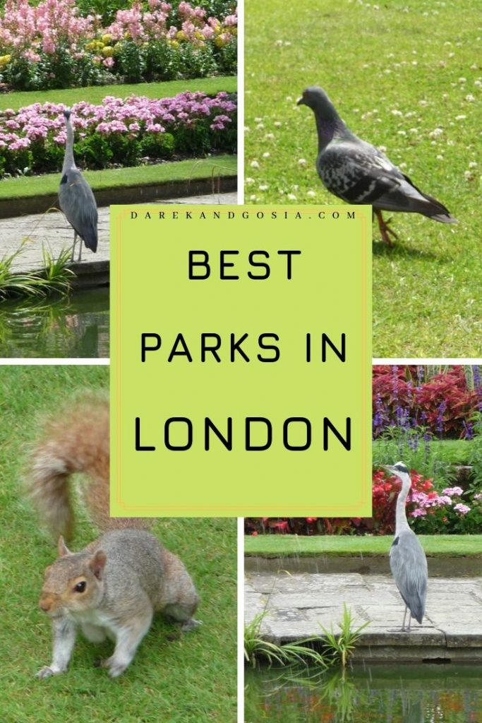 Beautiful parks in London