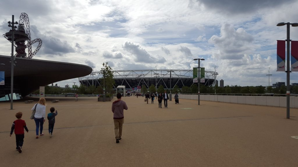 Best parks in London - Queen Elizabeth Olympic Park
