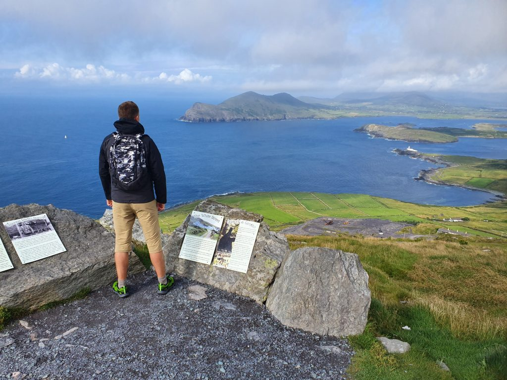 Hiking in Europe - Bray Head Loop - Ireland