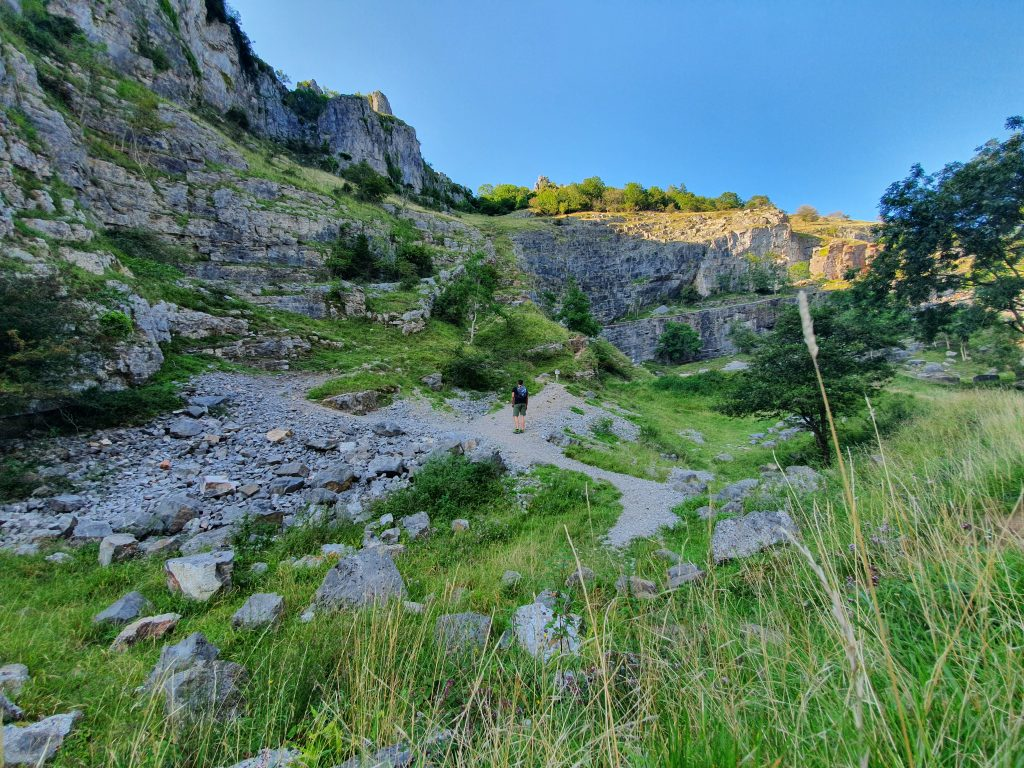 Hiking in Europe - Cheddar Gorge - England