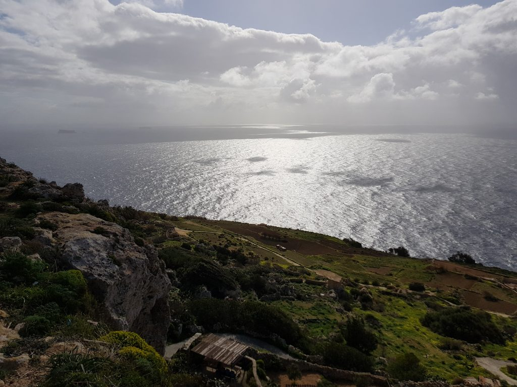Hiking in Europe - Dingli Cliffs - Malta