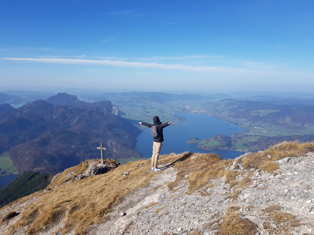 Hiking in Europe - Schafberg - Austria