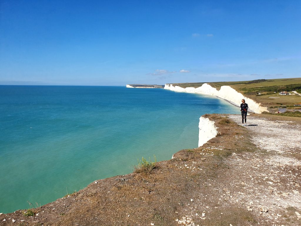 Hiking in Europe - Seven Sisters Cliffs - England