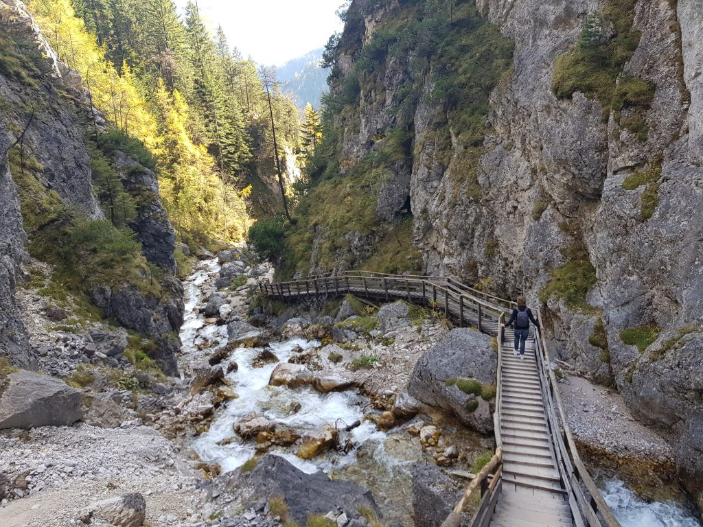 Hiking in Europe - Silberkarklamm - Austria