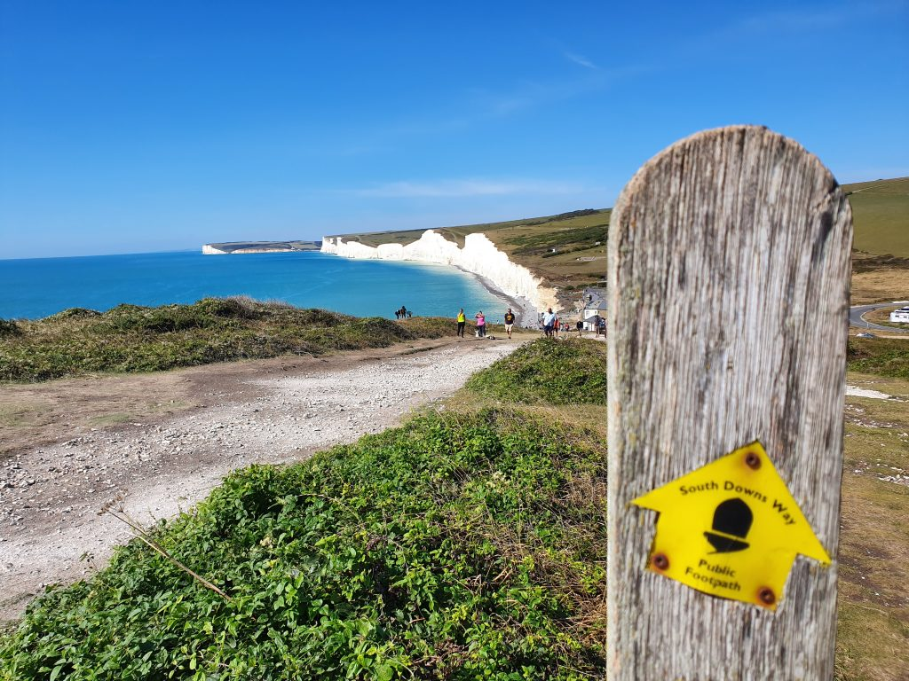 South Downs Way Seven Sisters hike