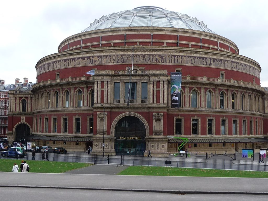 Famous landmarks in London - Royal Albert Hall