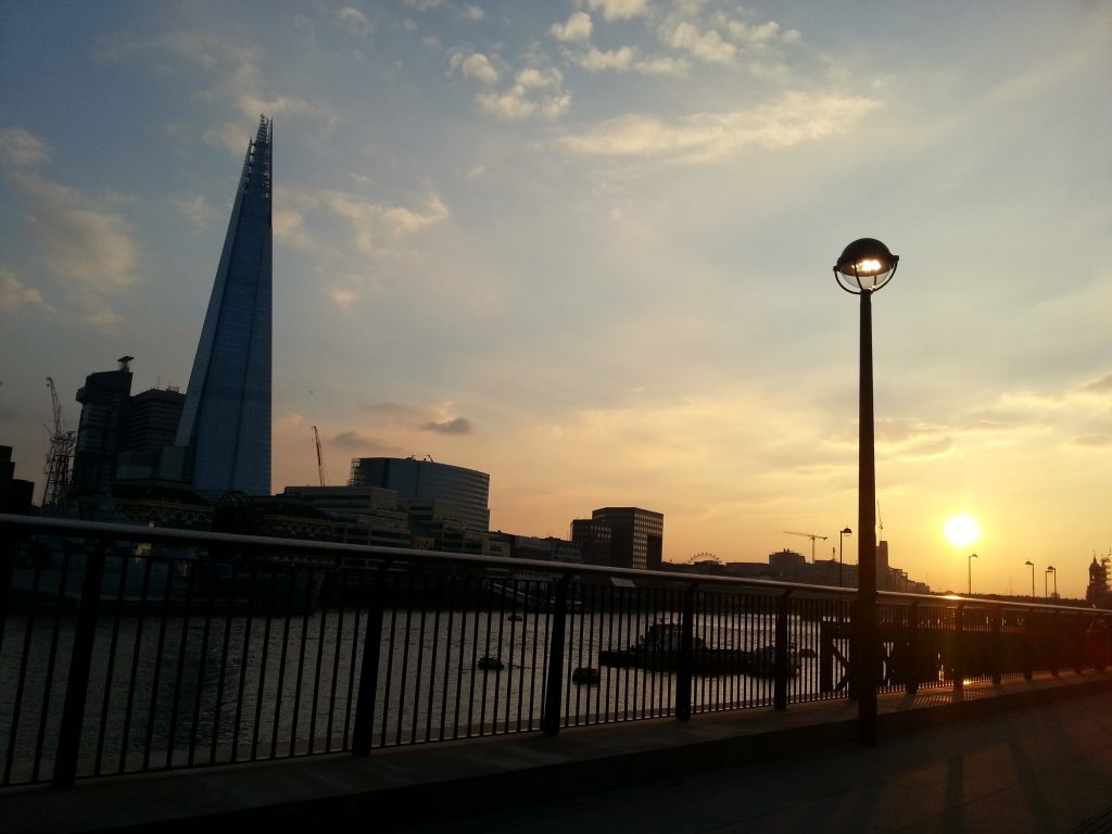 Famous landmarks in London - The Shard