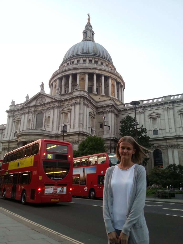 Landmarks in London - St Paul's Cathedral