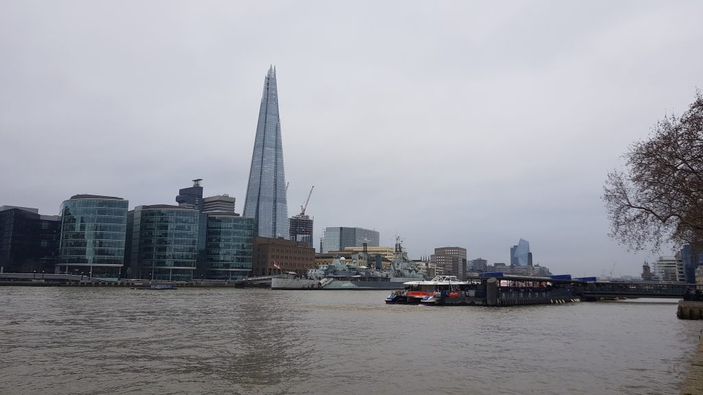 Landmarks in London - The Thames