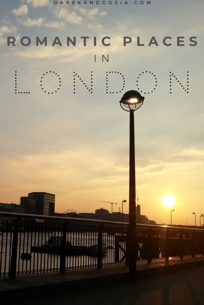 Romantic places in London