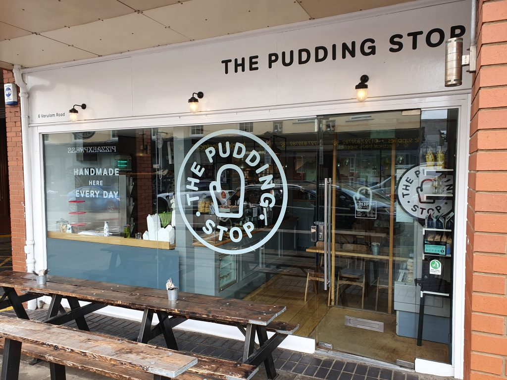 St. Albans things to do - The Pudding Stop