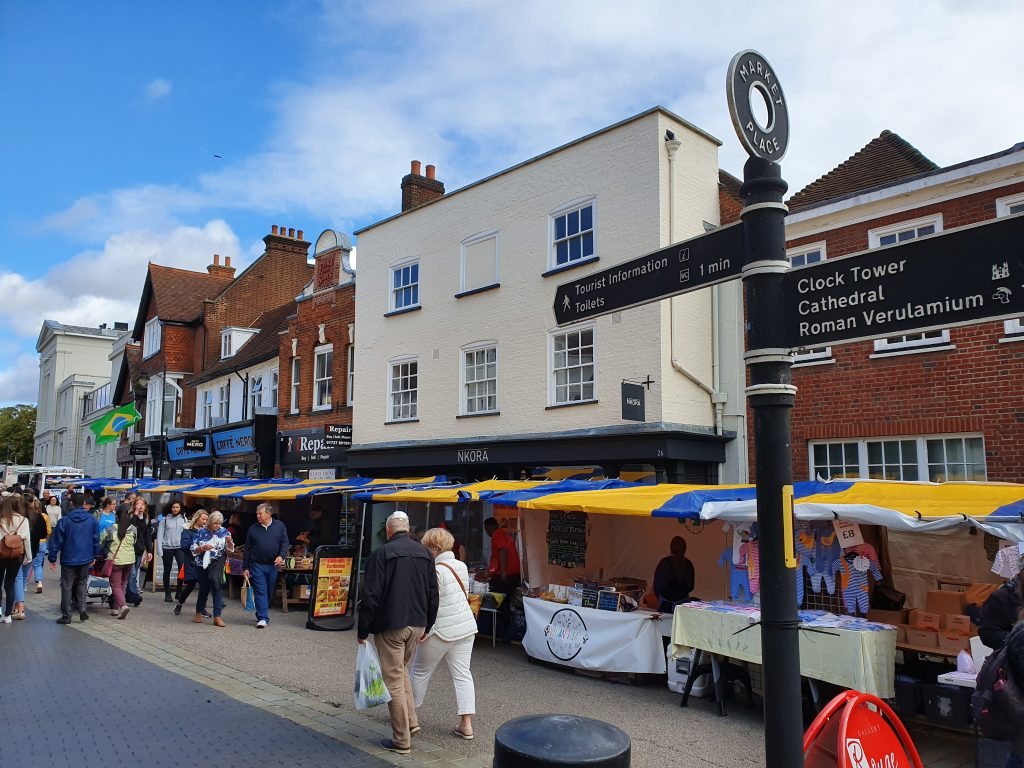 St. Albans things to see - Sunday market