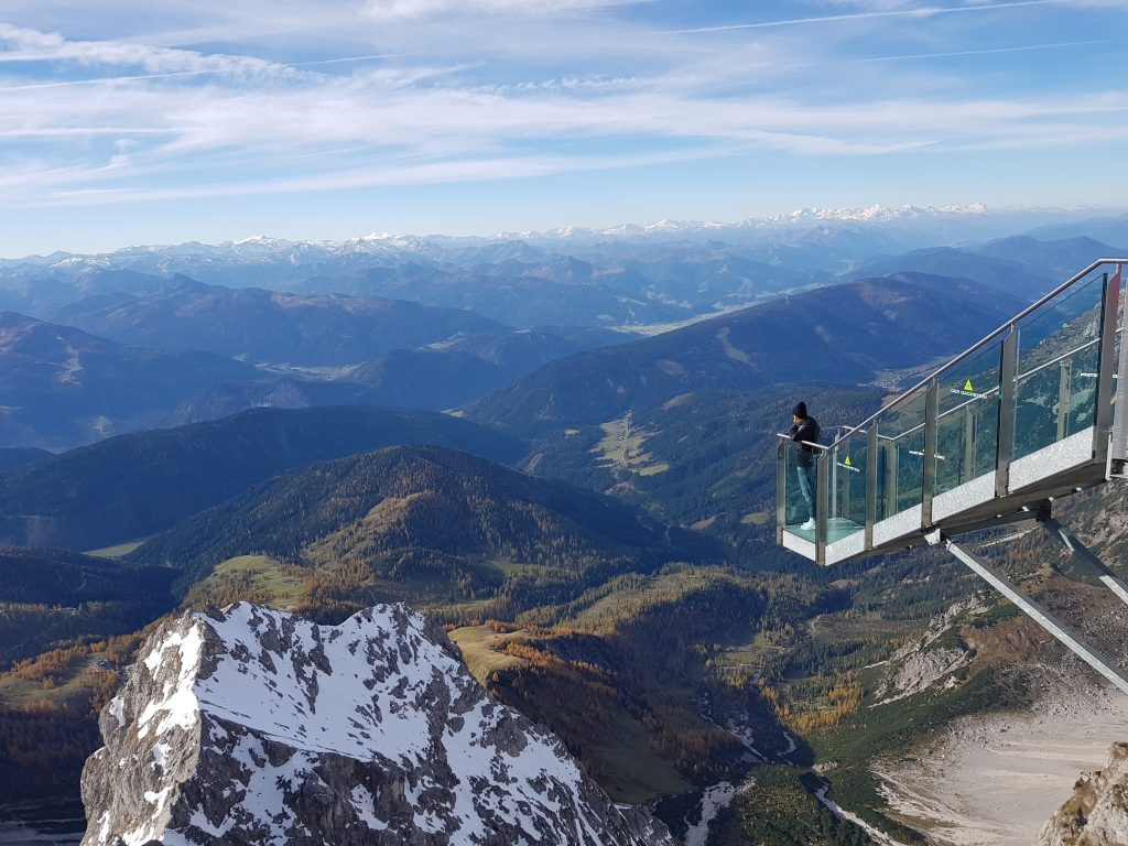 Stairway to nothingness Dachstein