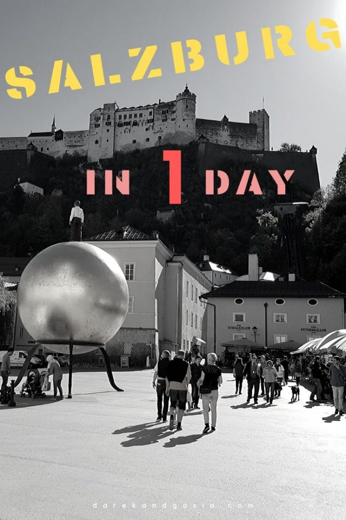 Things to do in Salzburg Austria in 1 day