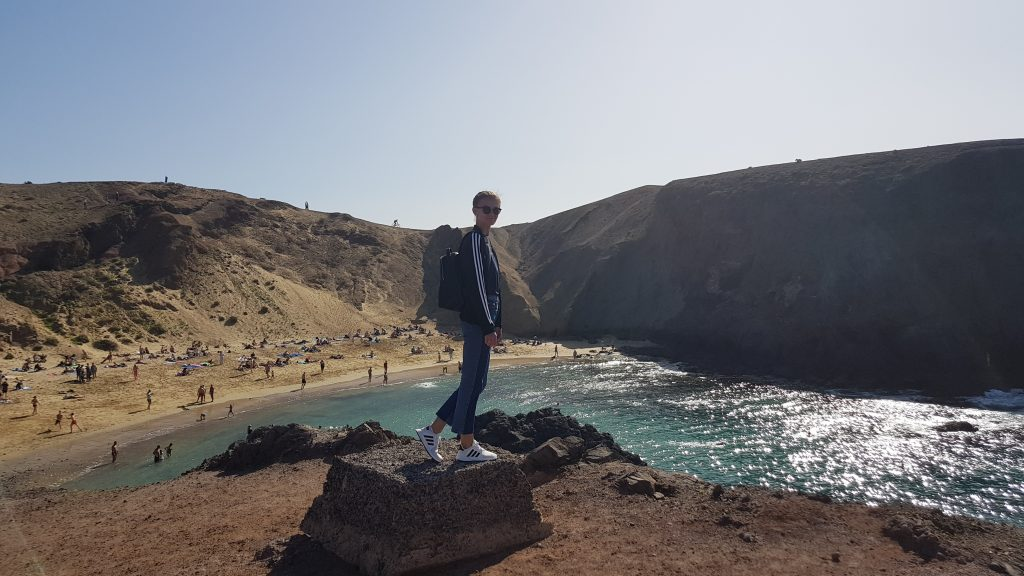 Best beaches in Lanzarote - Papagayo Beach