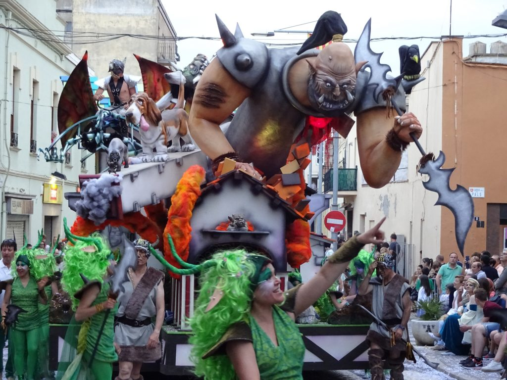 Palafrugell carnival - top tourist attraction in Spain