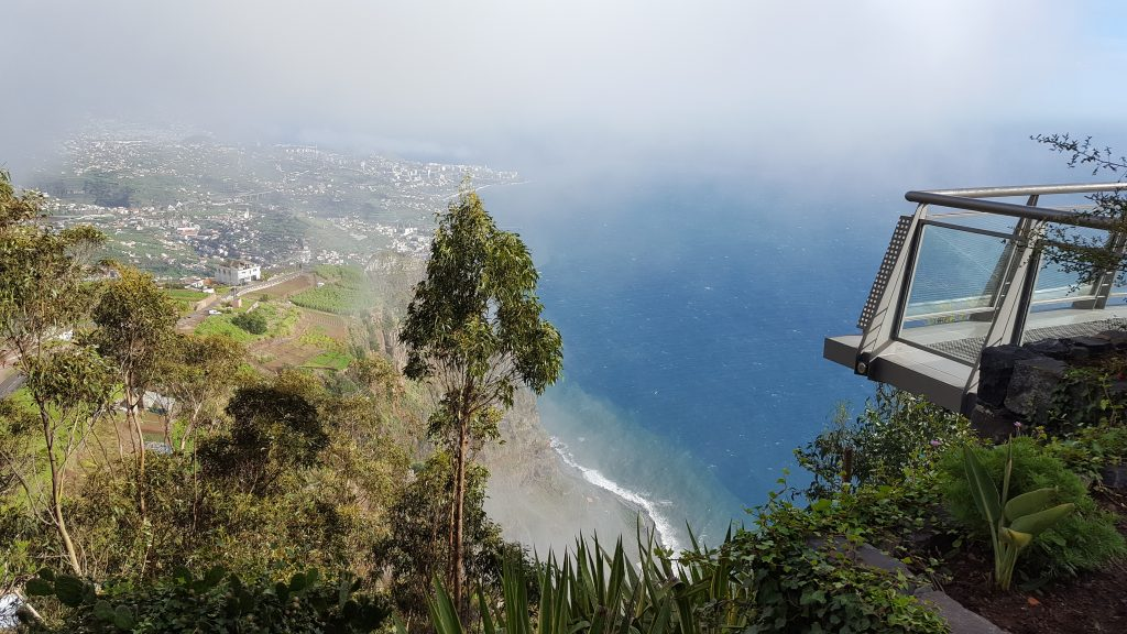 Where is warm in April in Europe - spring in Madeira