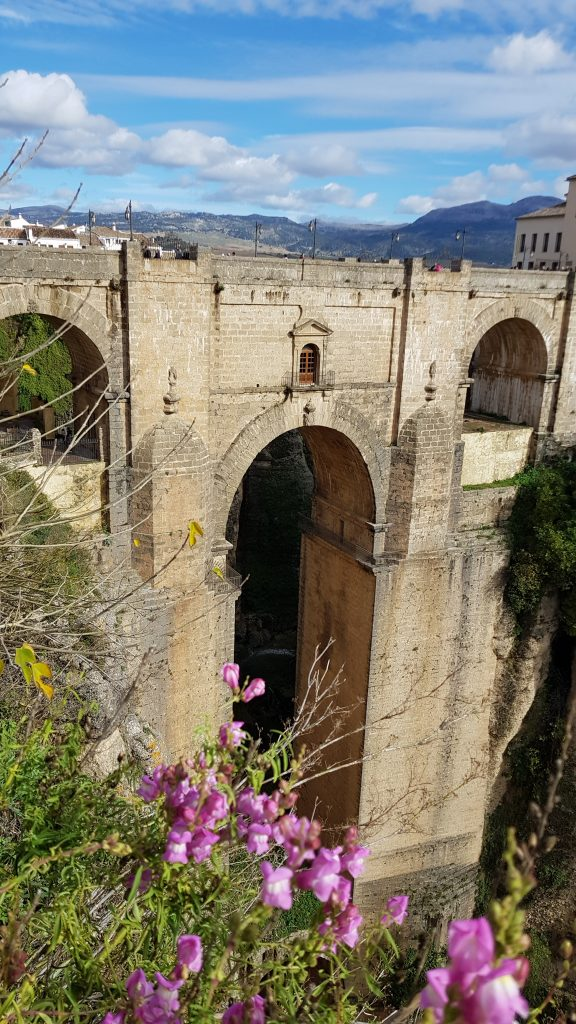 Where is warm in March in Europe - Ronda in spring