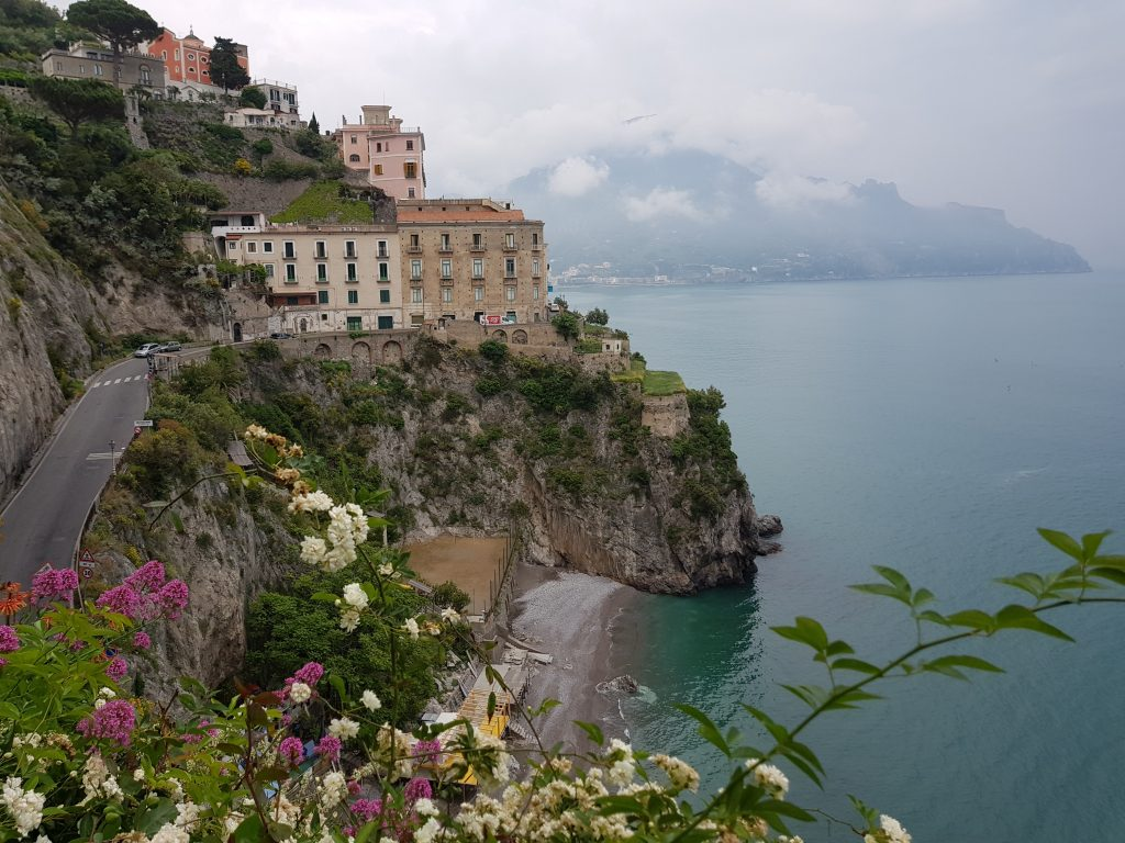 Where is warm in May in Europe - Spring in Amalfi Coast