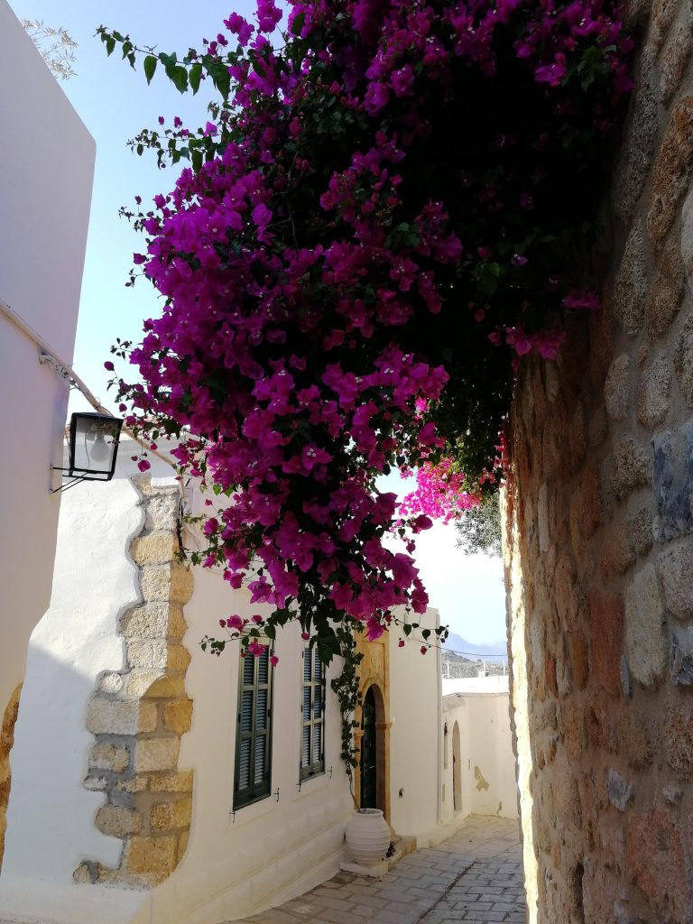 Where is warm in May in Europe - Spring in Rhodes