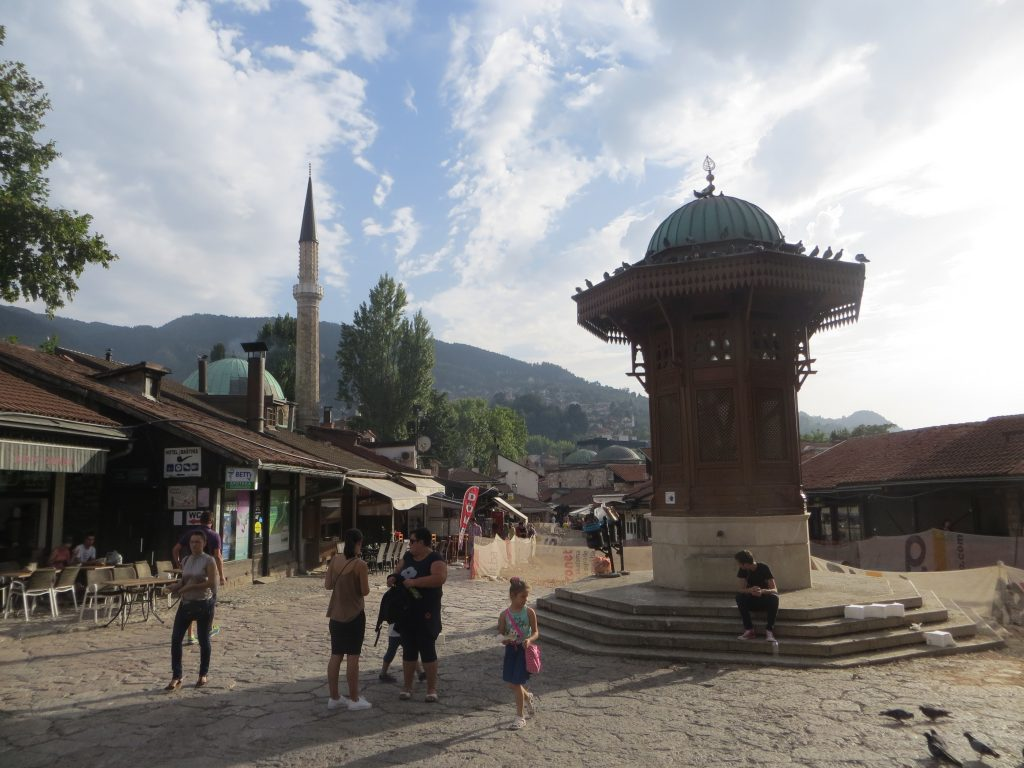 Where is warm in May in Europe - Spring in Sarajevo