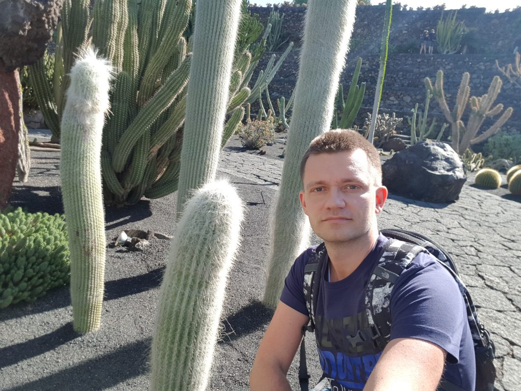 How much time do you need at Cactus garden