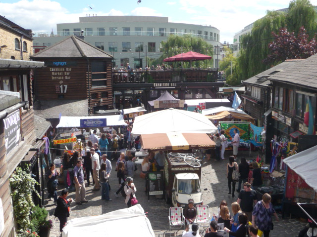 Cool neighbourhoods in London - Camden Town