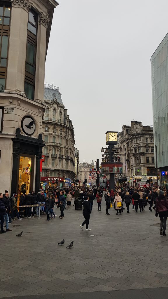 Neighbourhoods in London - Leicester Square