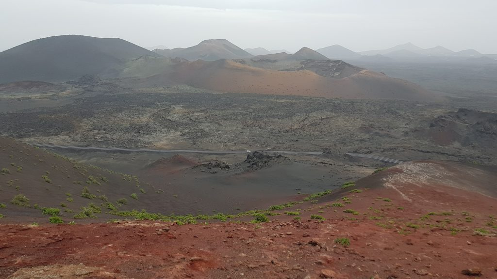 How to get to Timanfaya by car
